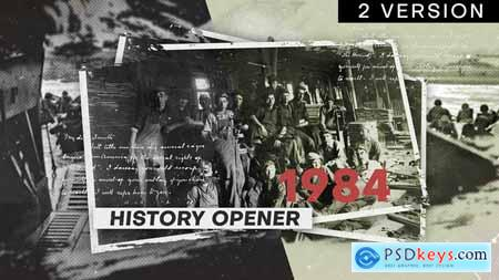 Videohive History Opener Free