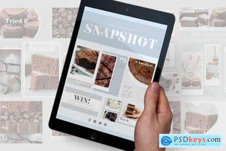 Snapshot Social Media Template pack