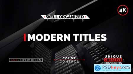 Videohive Modern Titles Free