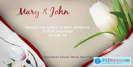 Videohive Wedding Invitation E Card 158426 Free Download