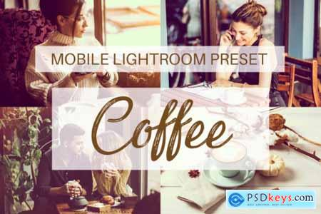 Coffee Mobile Lightroom Preset