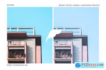 Bright Pastel Lightroom Presets