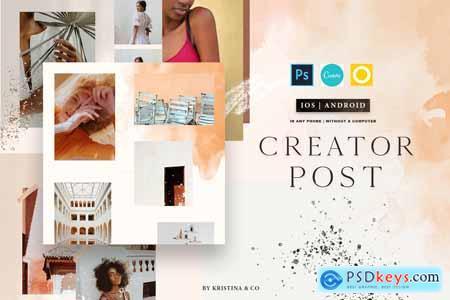 Creator Post for Instagram