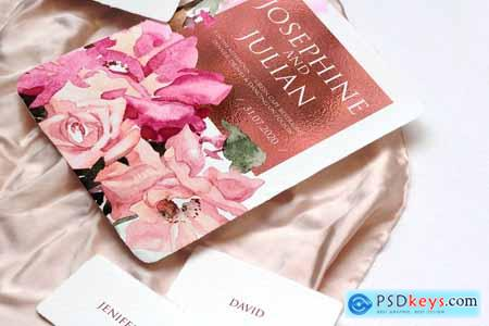 Josephine Wedding Invitation Suite