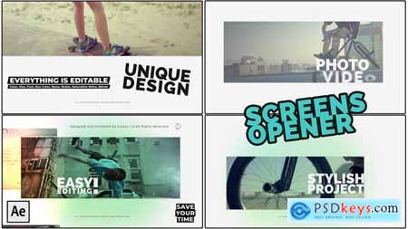 Videohive Screens Opener Free