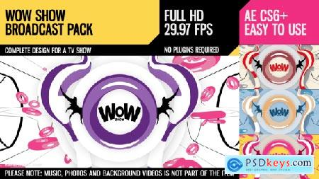 Videohive WoW Show (Broadcast Pack) Free