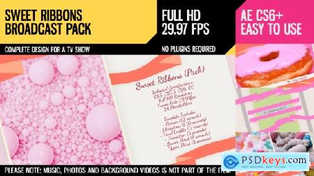 Videohive Sweet Ribbons (Pack) Free