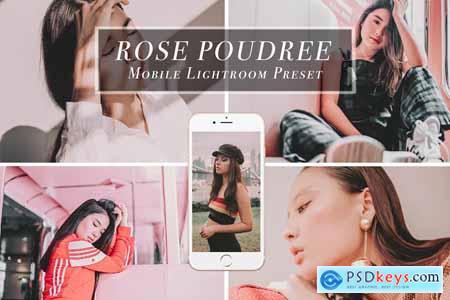 Mobile Lightroom Presets ROSE