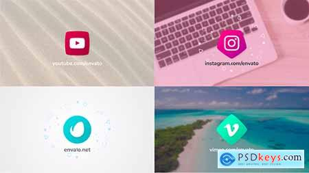 Videohive Gradient Logo Reveal Free