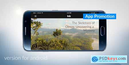 Videohive Android App Promotion Free