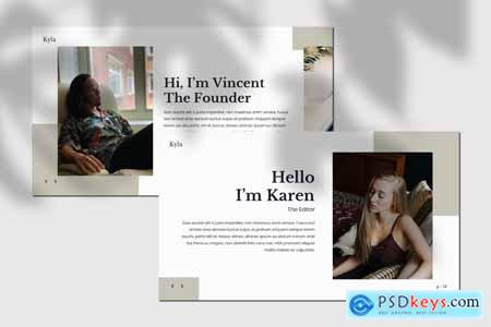 Kyla - Powerpoint Template