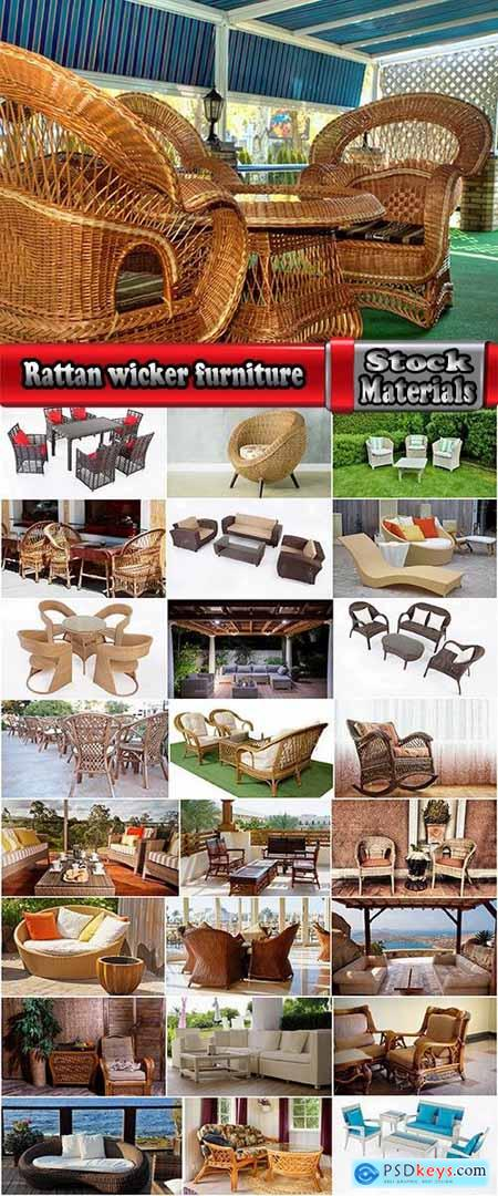 Rattan wicker furniture chair sofa table bed 25 HQ Jpeg