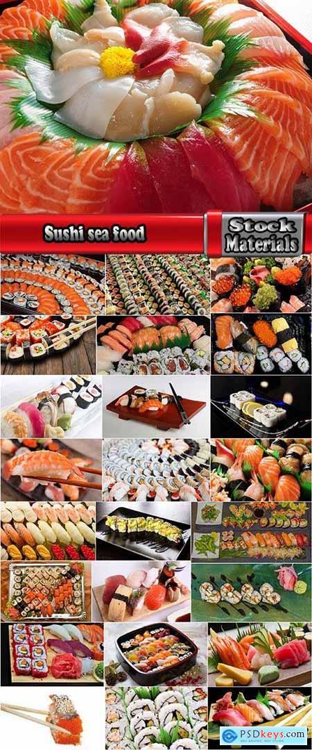 Sushi sea food rice seaweed caviar 25 HQ Jpeg