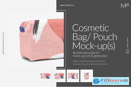 Cosmetic Bag Mock-ups