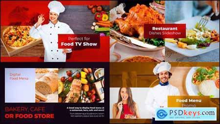 Videohive Food Slideshow Free