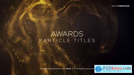 Videohive Awards Particles Titles Free