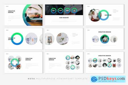 NOVA - Creative PowerPoint Template