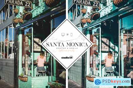 Santa Monica Summer Lightroom Preset