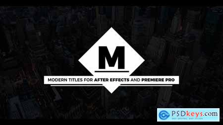 Videohive Essential Modern Titles Free
