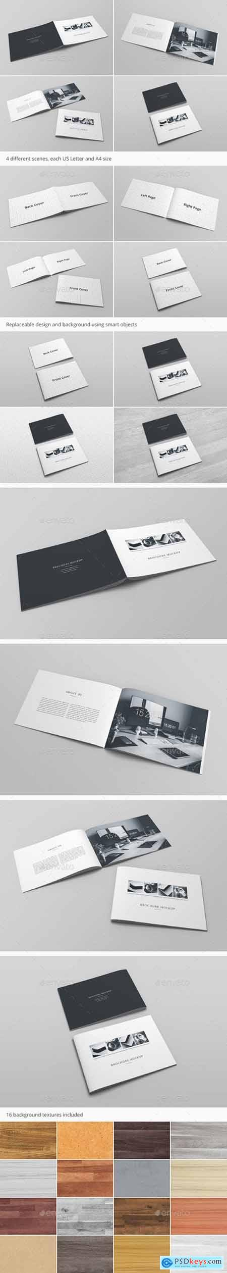 Brochure Catalog Mockup Vol. 3