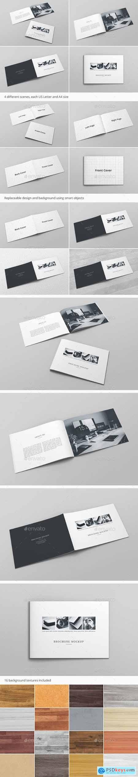 Brochure Catalog Mockup Vol. 2