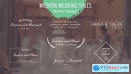 Videohive Wedding Titles Free