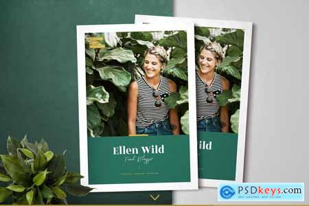 Green Duo Pack Magazine Templates