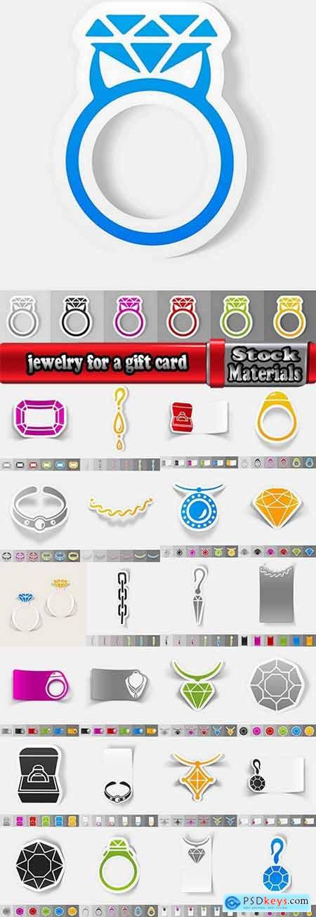 jewelry for a gift card 25 eps