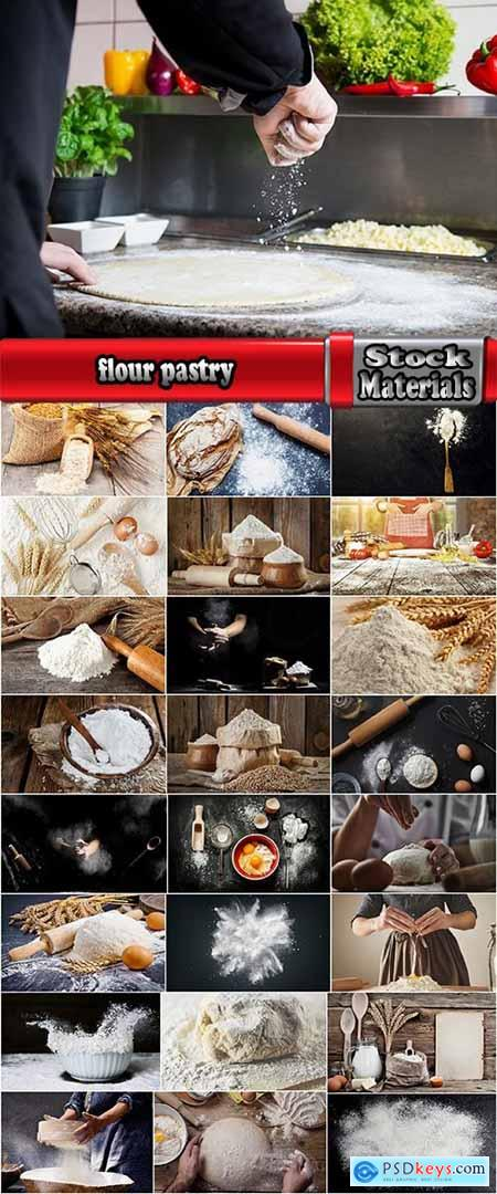 flour pastry flour products loaf of wheat grain 25 HQ Jpeg