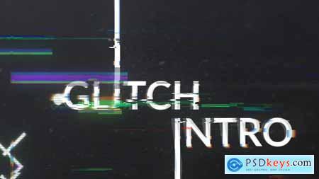 Videohive Geometric Glitch Logo Reveal Free