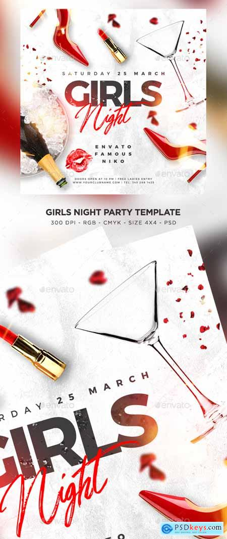 Girls Night Out Flyer