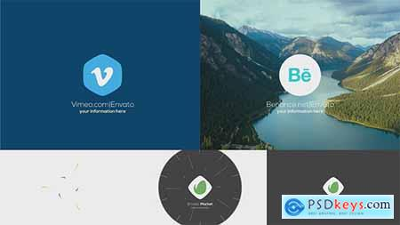 Videohive Drops & Burst Logo Free