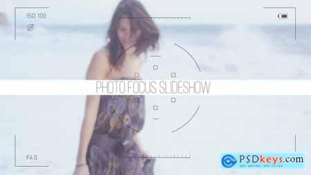Videohive Photo Focus Frames Slideshow Free