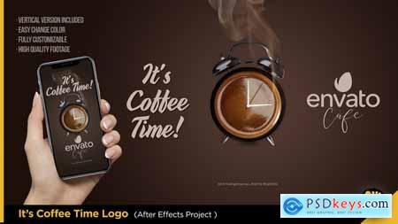 Videohive It's Coffee Time - Logo Free
