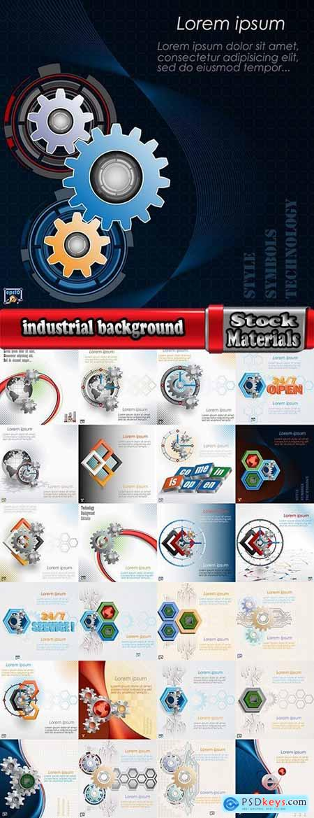 vector a background picture industrial background service 25 Eps