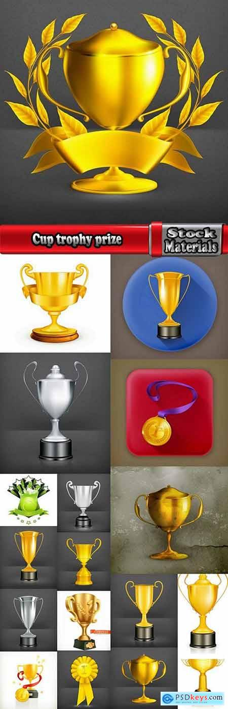 Cup trophy prize 18 EPS