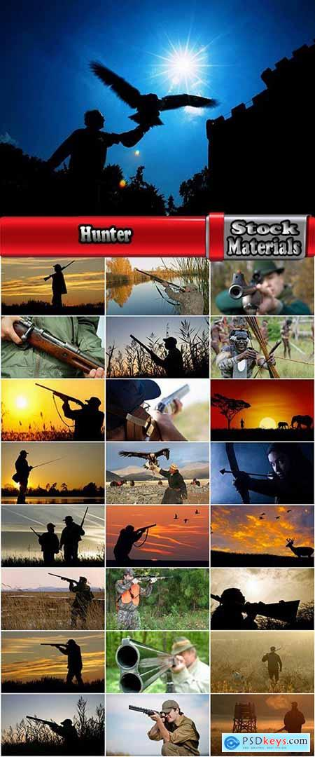 Hunter mining gun arrow bow arrow bird of prey 25 HQ Jpeg