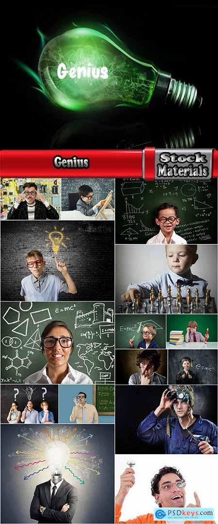 Genius scientist is a talented person 16 HQ Jpeg