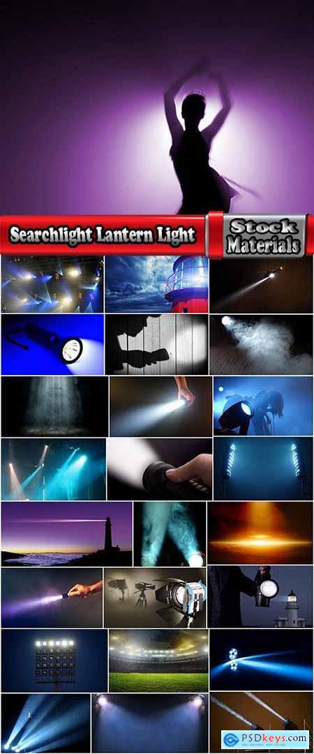 Searchlight Lantern Light Lamp 25 HQ Jpeg