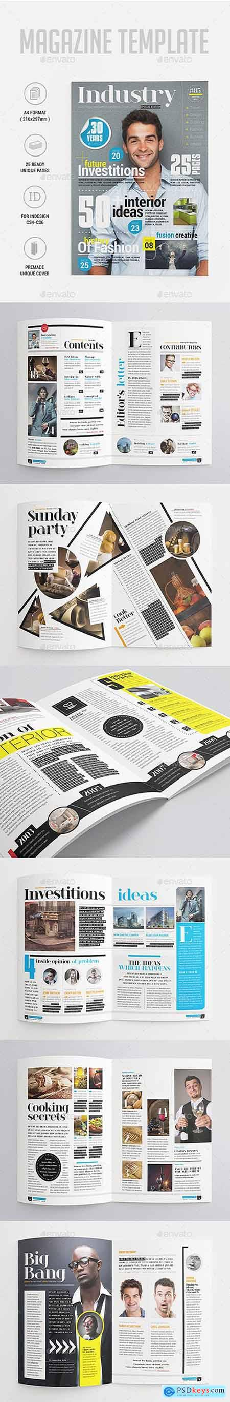 Graphicriver Industry Magazine