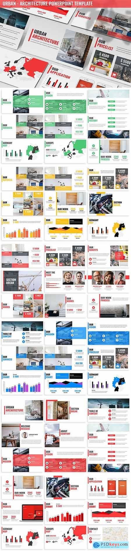 Urban - Architecture Powerpoint Template