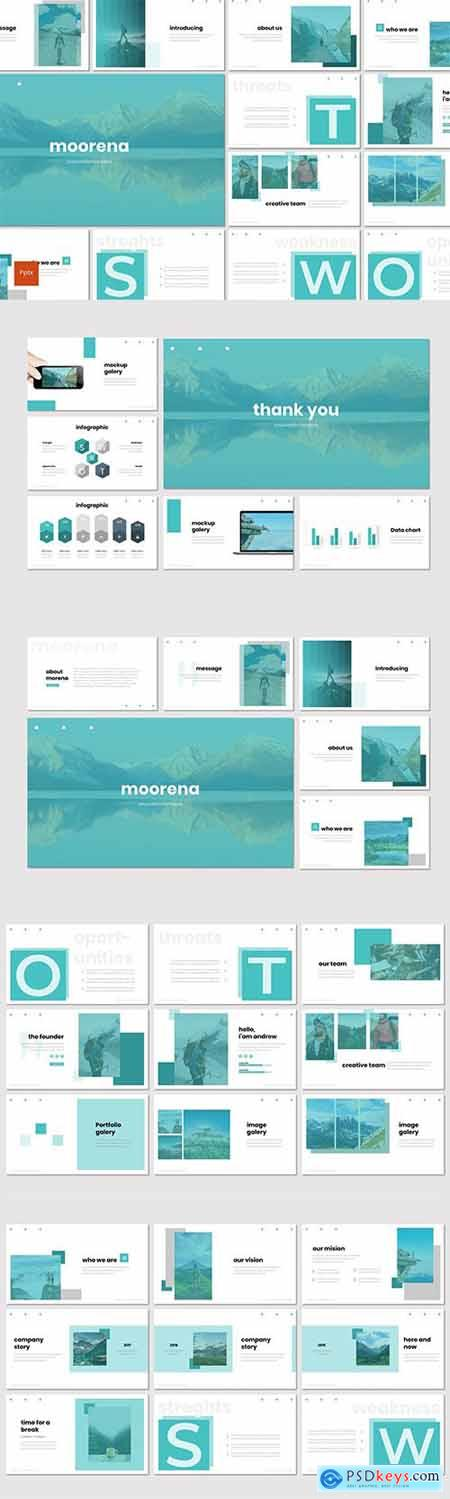 Moorena - Powerpoint Google Slides and Keynote Templates
