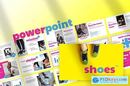 Shoes - Powerpoint Google Slides and Keynote Templates