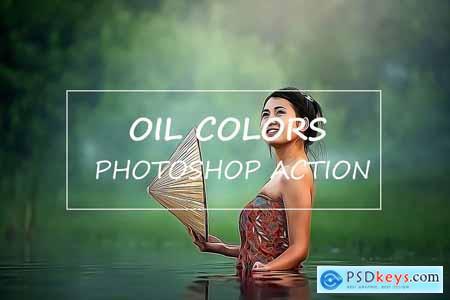 Oil Colors - Photoshop Action