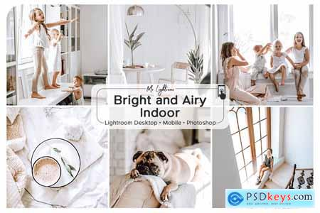 Creativemarket Bright and Airy Indoor Presets