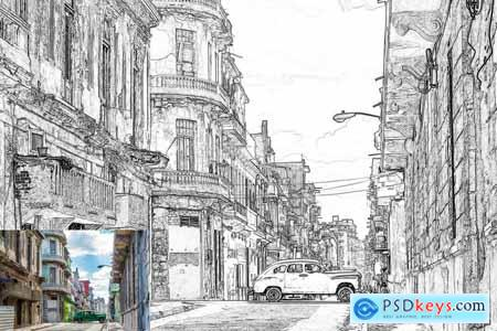 Creativemarket Pencil Sketch - Photoshop Action
