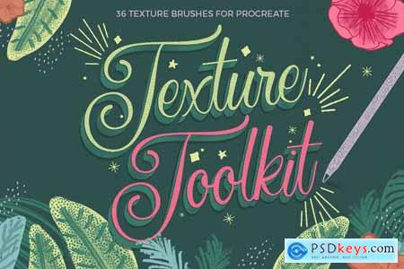Creativemarket Texture Toolkit for Procreate