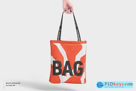 CreativeMarket Tote Bag Mockup