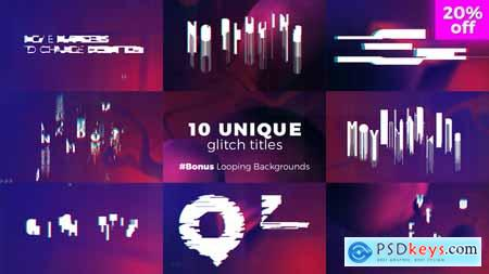 Videohive Glitch Titles Sequence Free