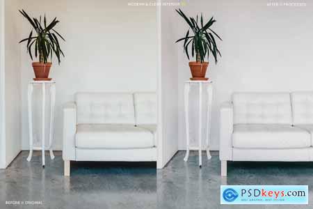 Creativemarket 12 Modern Interior Presets + Mobile